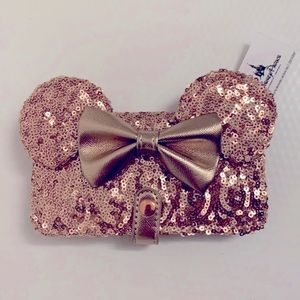 NWT Disney Rose Gold iPhone Wallet